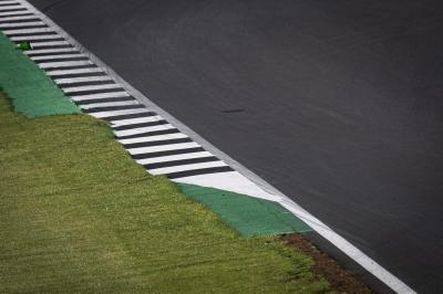 Los márgenes de la curva 6 de Silverstone son modificados