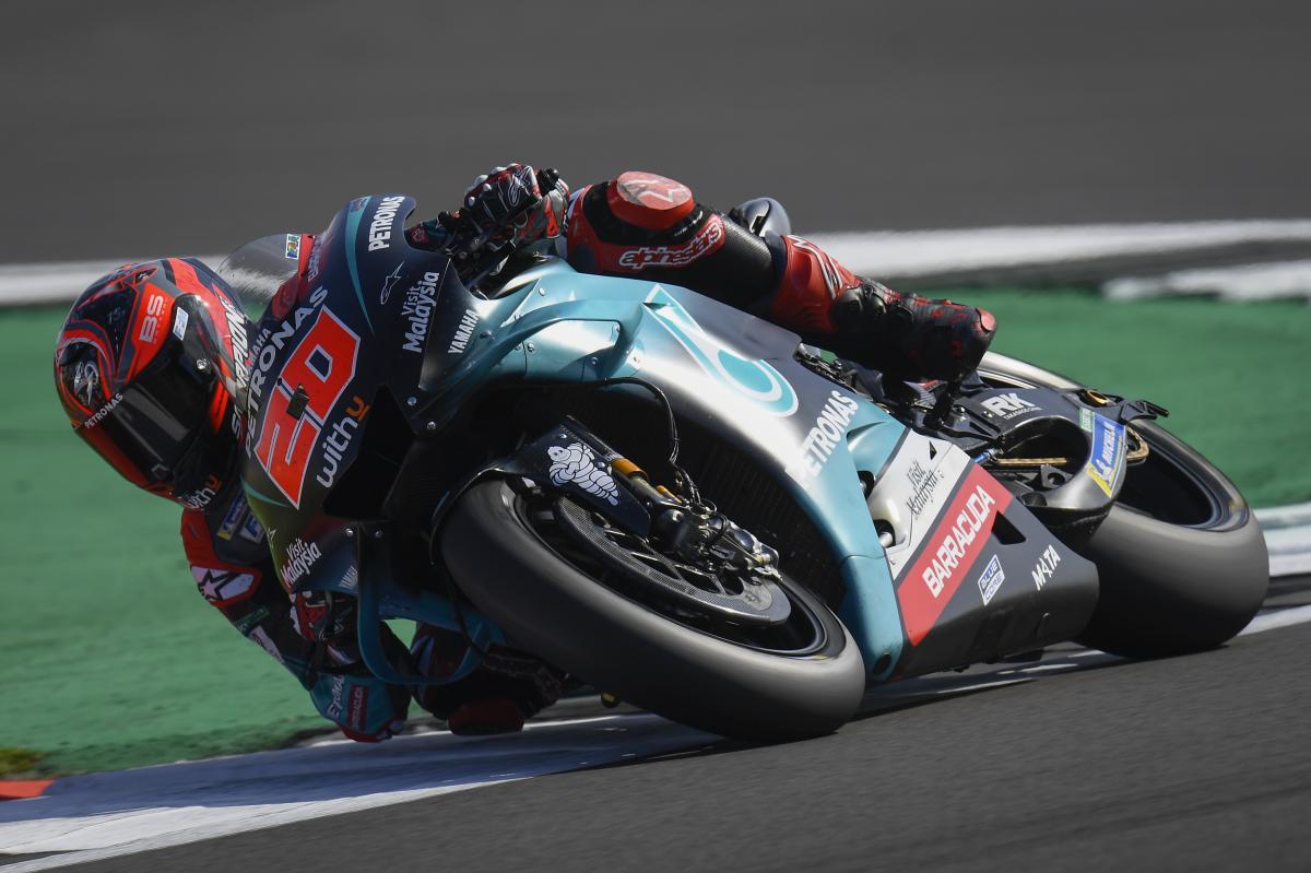 Quartararo: Marquez' biggest British GP threat?