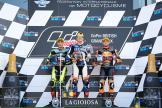 Augusto Fernandez, Jorge Navarro, Brad Binder, GoPro British Grand Prix