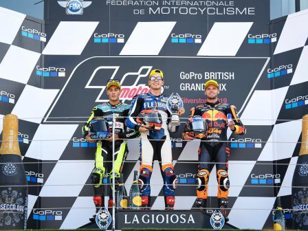 Moto2, Race, GoPro British Grand Prix