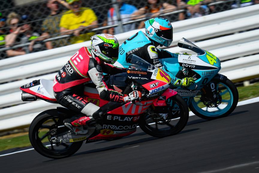 Tony Arbolino, Lorenzo Dalla Porta, GoPro British Grand Prix