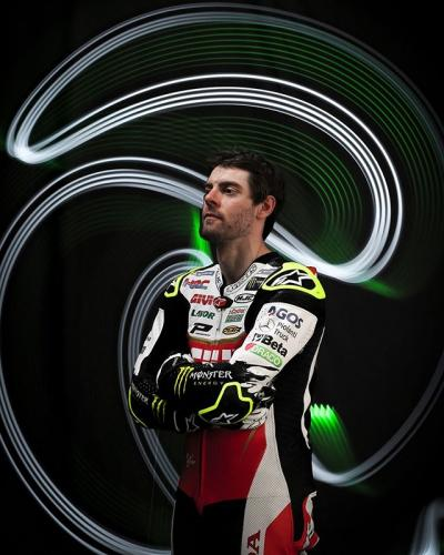 Local hero // British rider @calcrutchlow is ready to give