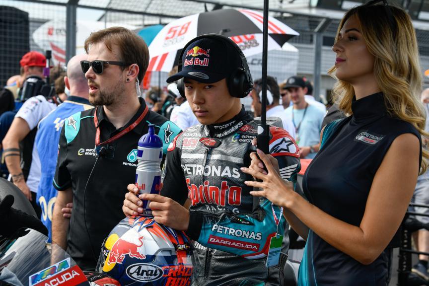 Ayumu Sasaki, Petronas Sprinta Racing, GoPro British Grand Prix