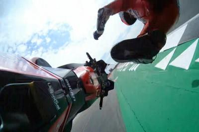 Watch the Quarta-Dovizioso crash from all angles