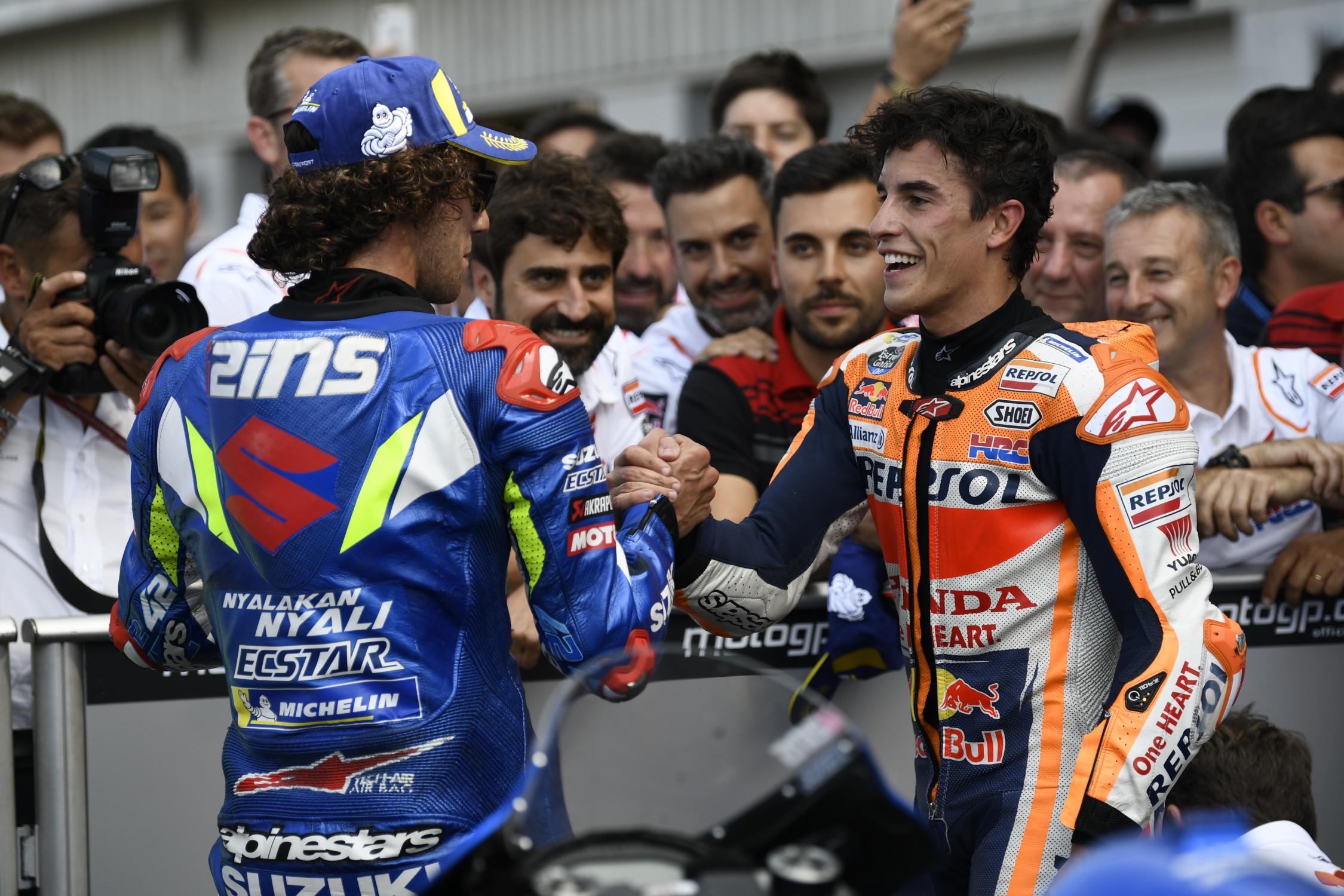 MotoGP Inggris 2019 - Marc Marquez Mengaku Marah Ditikung Kedua Kalinya