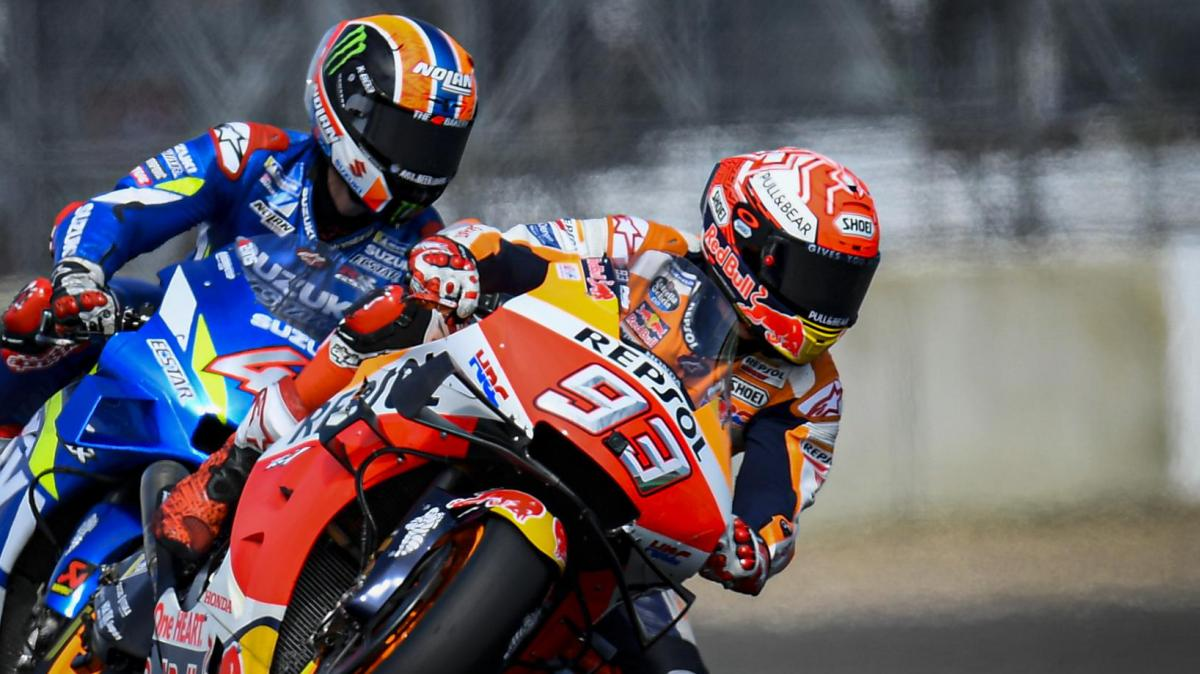 Telemetry shows Rins' secret to beating Marquez