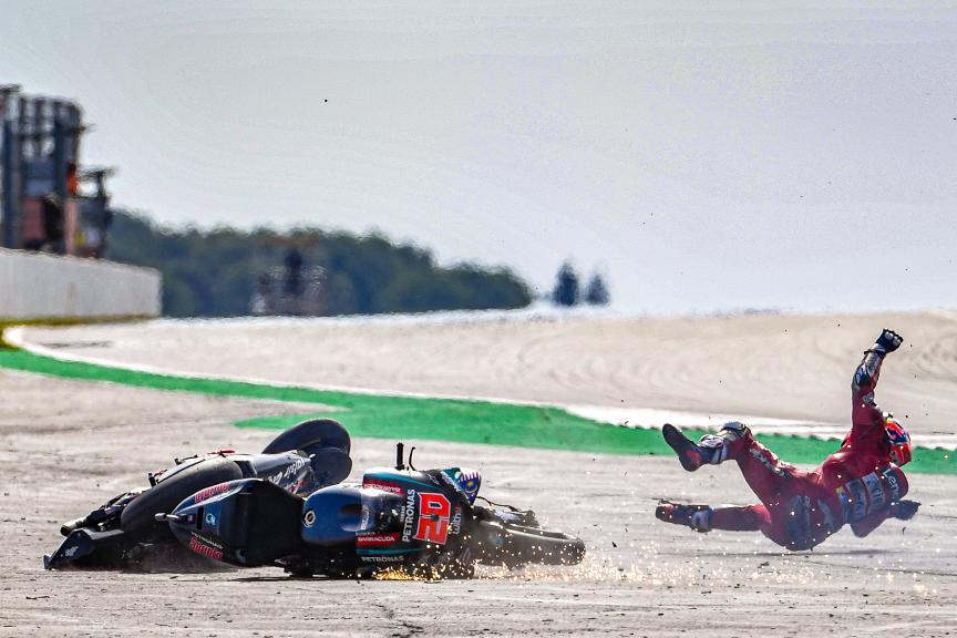 Andrea Dovizioso, Fabio Quartararo, GoPro British Grand Prix