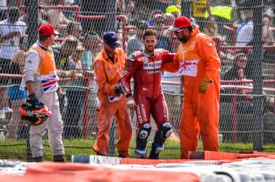 La Diosa Fortuna se ceba con Ducati en Silverstone
