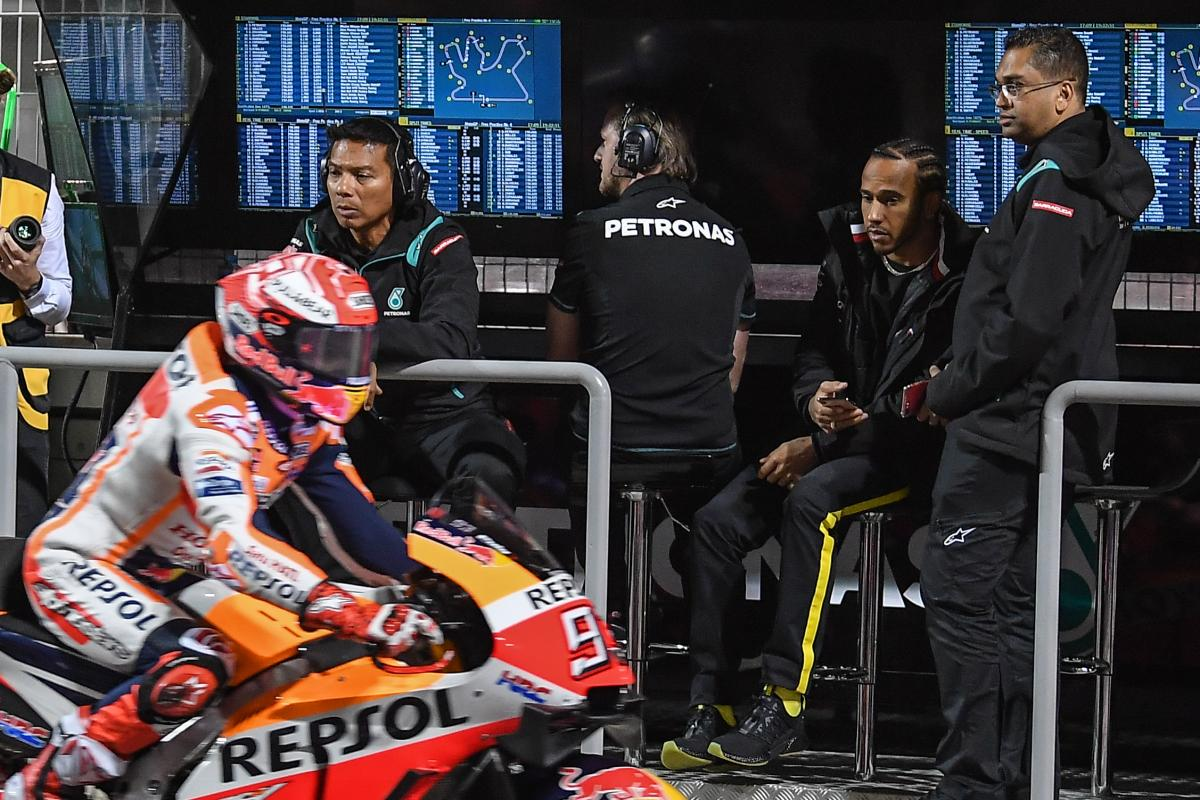 Are Marc Marquez and Lewis Hamilton set to go to battle?