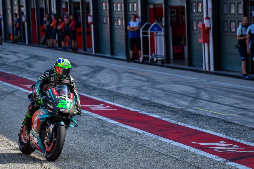 Franco Morbidelli, Petronas Yamaha SRT, Misano MotoGP™ Test