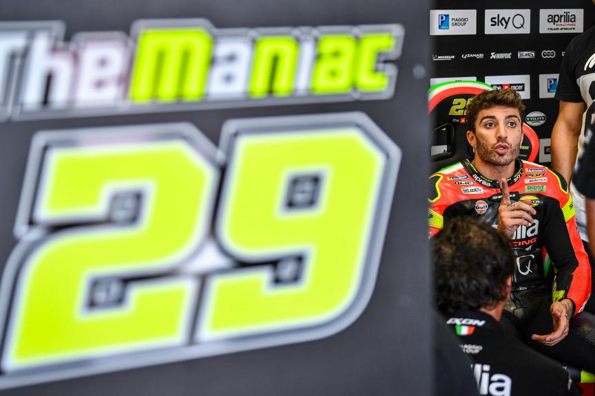 Andrea Iannone, Aprilia Racing Team Gresini, Misano MotoGP™ Test