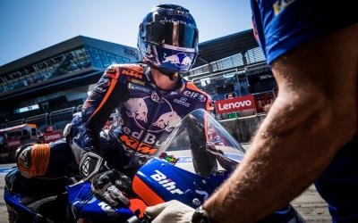 Oliveira concludes Misano Test early with shoulder injury
