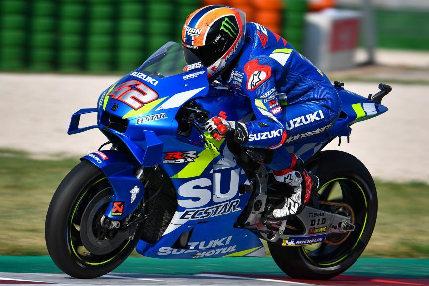 Alex Rins, Team Suzuki Ecstar, Misano MotoGP™ Test