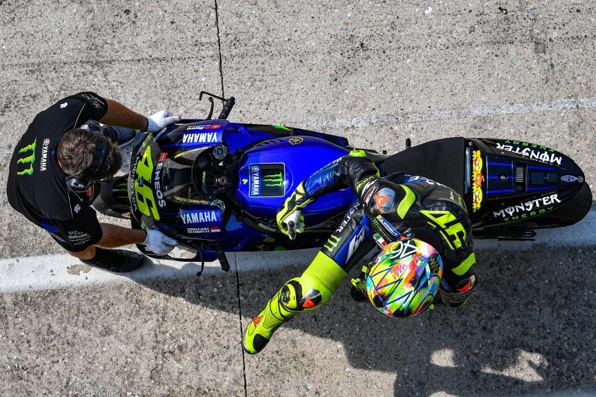 Valentino Rossi, Monster Energy Yamaha MotoGP, Misano MotoGP™ Test
