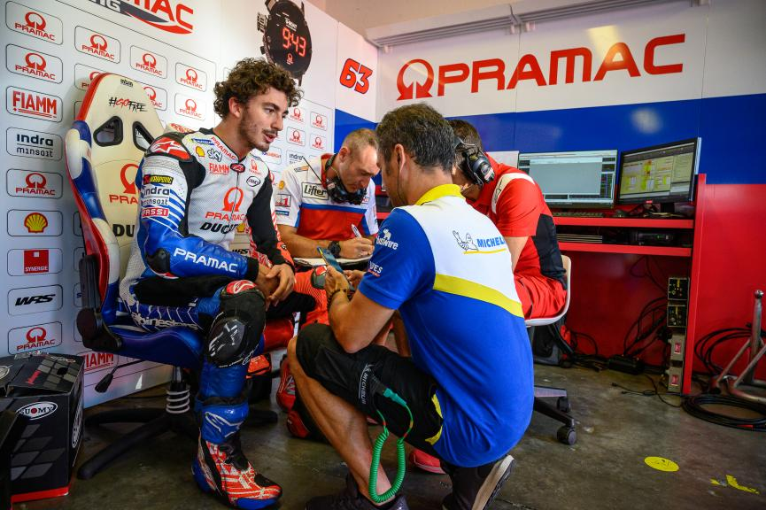 Francesco Bagnaia, PRAMAC RACING, Misano MotoGP™ Test