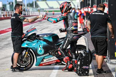 Petronas Yamaha SRT duo top Misano Test Day 1 times