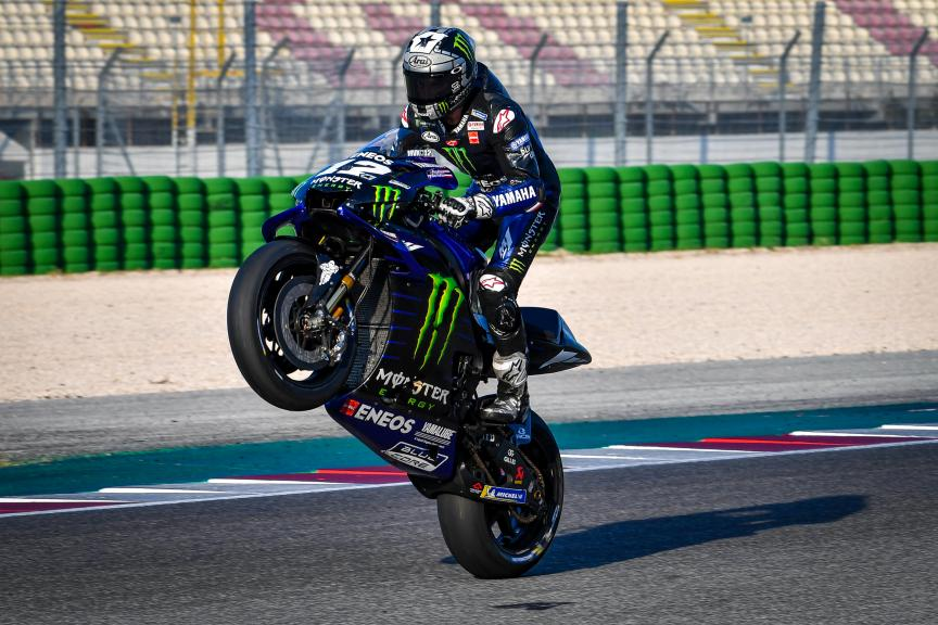 Maverick Viñales, Monster Energy Yamaha MotoGP, Misano MotoGP™ Test