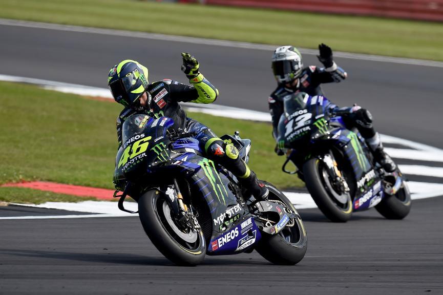 Maverick Viñales, Valentino Rossi, Monster Energy Yamaha MotoGP