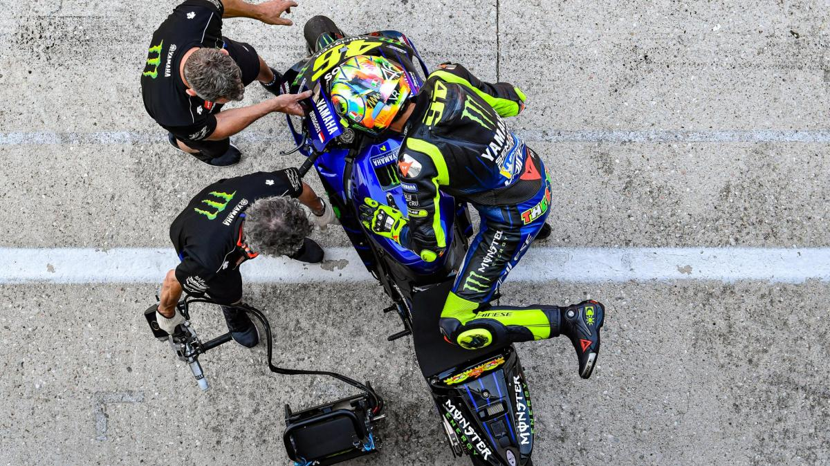 """Rossi: """"We had some new things for next year"""""""