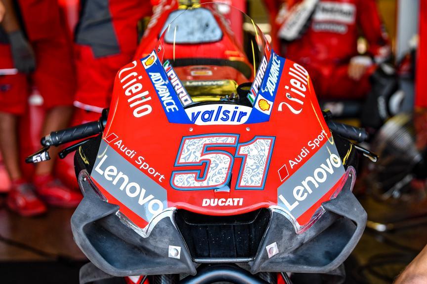 Michel Pirro, Ducati Team, Misano MotoGP™ Test