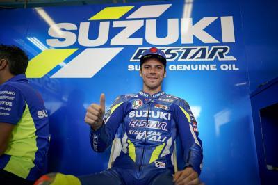 Mir ist froh, nach dem Brno-Test-Crash wieder fit zu sein