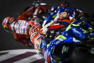 #MotoGP2020: ¿Cómo está formada la parrilla?