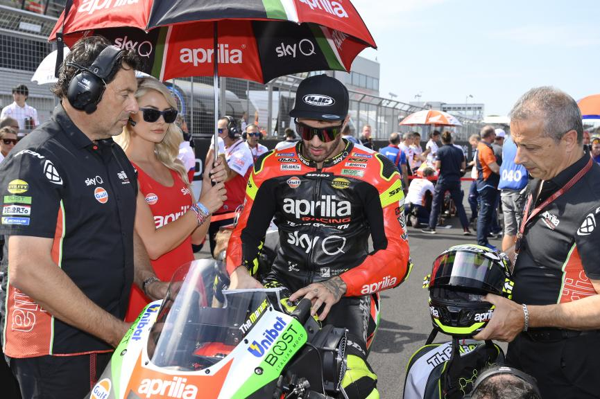 Andrea Iannone, Aprilia Racing Team Gresini, GoPro British Grand Prix