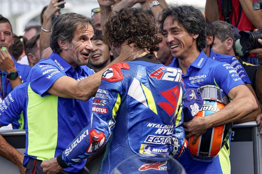 Davide Brivio_Team Suzuki Ecstar_BritishGP