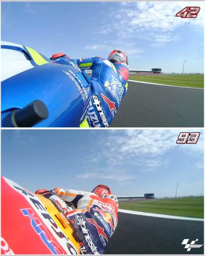 Jump onboard with @Rins42 and @marcmarquez93 for the last turns