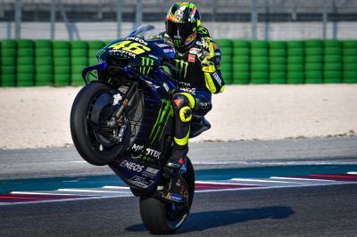 Cifras de impacto y baño de masas para Rossi