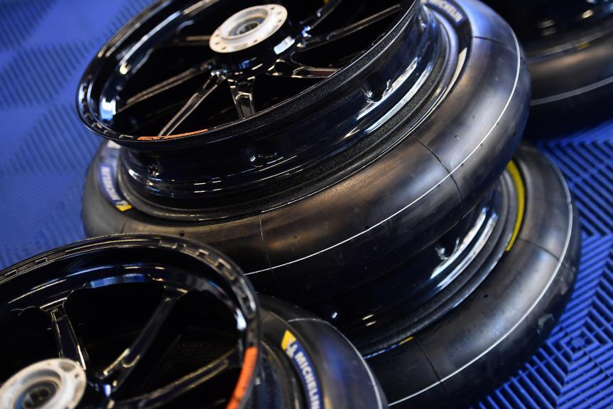 Tyres Michelin Previa - San Marino GP