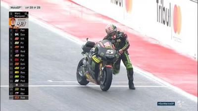 A heroic effort from @johannzarco! // The Frenchman was forced