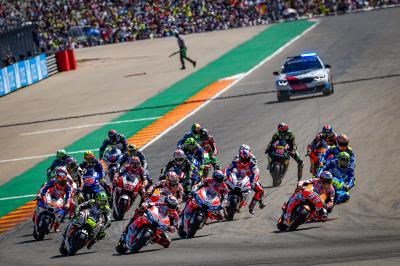 El Gran Premio Michelin® de Aragón modifica sus horarios