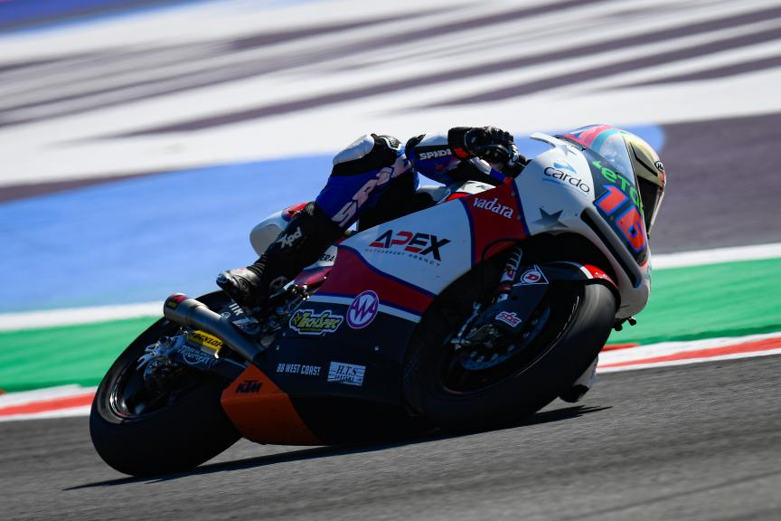 Joe Roberts, American Racing KTM, Gran Premio Octo di San Marino e della Riviera di Rimini