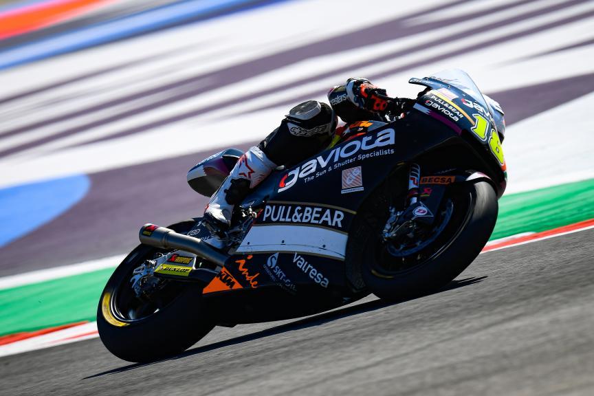 Xavier Cardelus, Sama Qatar Angel Nieto Team, Gran Premio Octo di San Marino e della Riviera di Rimini