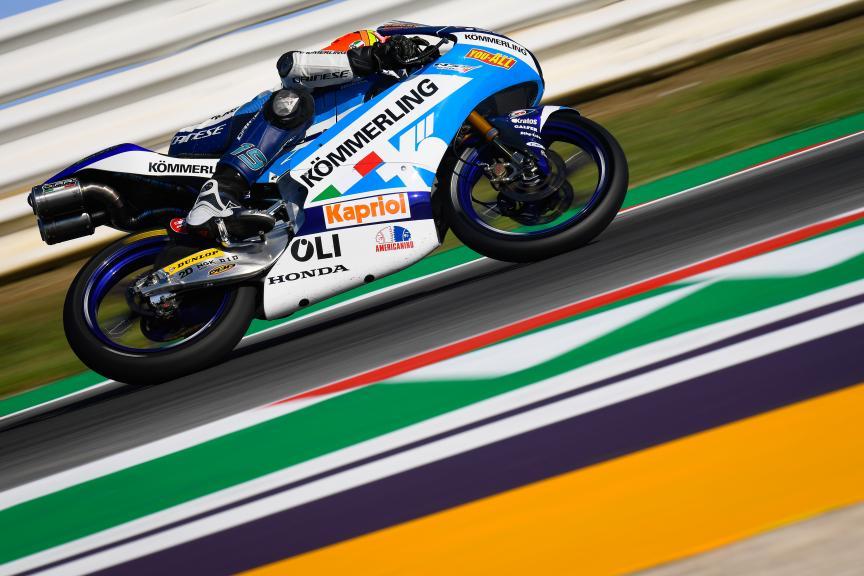 Gabriel Rodrigo, Kőmmerling Gresini Moto3, Gran Premio Octo di San Marino e della Riviera di Rimini