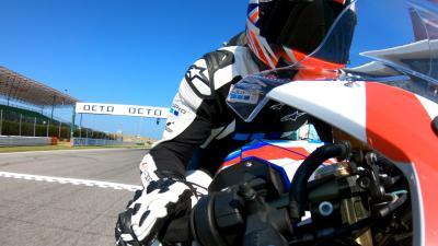 GoPro™ presenta: in moto con Crafar a Misano