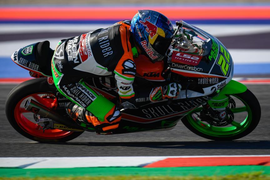 Kazuki Masaki, Boe Skull Rider Mugen Race, Gran Premio Octo di San Marino e della Riviera di Rimini