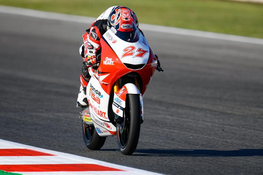 Kaito Toba, Honda Team Asia, Gran Premio Octo di San Marino e della Riviera di Rimini