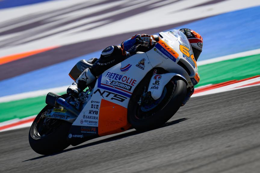 Bo Bendsneyder, NTS RW Racing GP, Gran Premio Octo di San Marino e della Riviera di Rimini