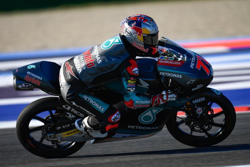 Ayumu Sasaki, Petronas Sprinta Racing, Gran Premio Octo di San Marino e della Riviera di Rimini