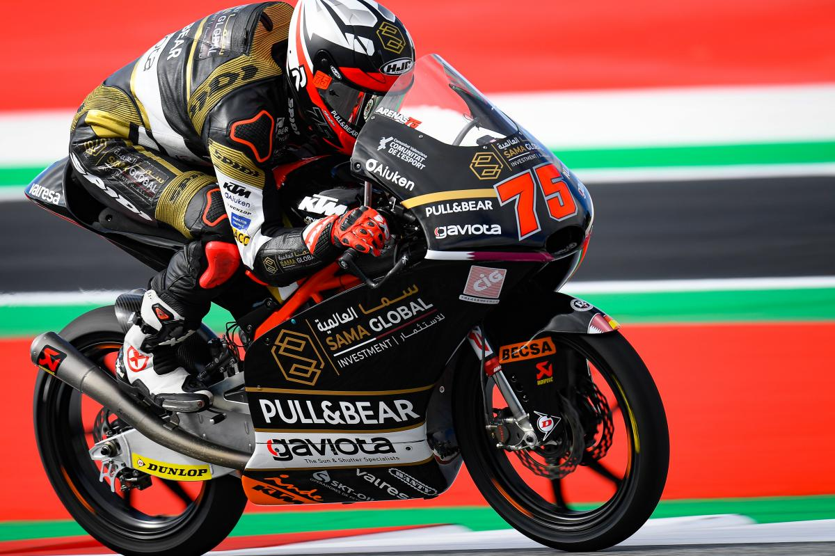 Arenas holds on to top spot as a second covers Moto3™ top 26