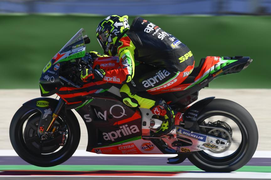 Andrea Iannone, Aprilia Racing Team Gresini, Gran Premio Octo di San Marino e della Riviera di Rimini