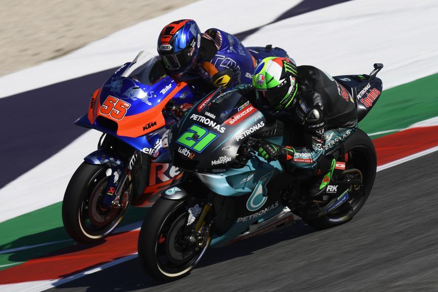 Hafizh Syahrin, Franco Morbidelli, Gran Premio Octo di San Marino e della Riviera di Rimini