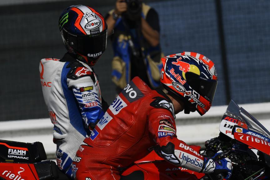Francesco Bagnaia, Andrea Dovizioso, Gran Premio Octo di San Marino e della Riviera di Rimini