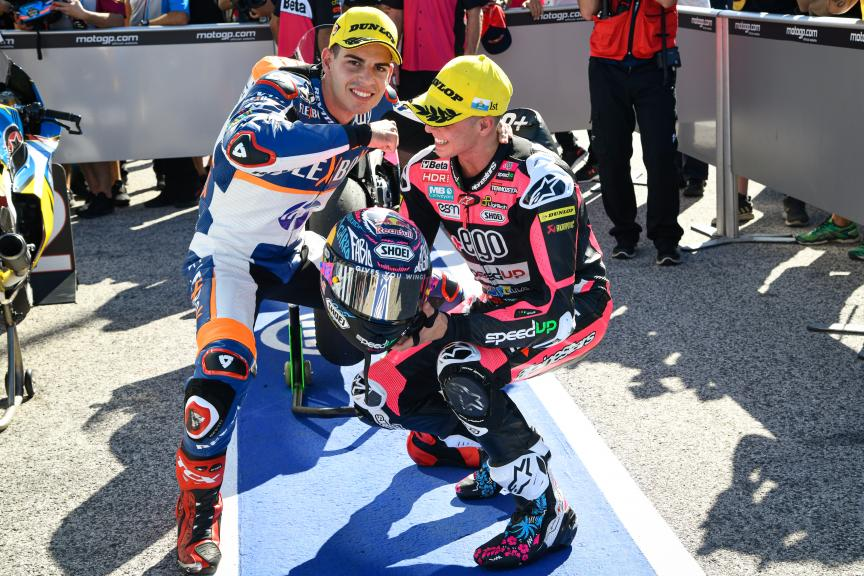 Augusto Fernandez, Fabio Di Giannantonio, Gran Premio Octo di San Marino e della Riviera di Rimini