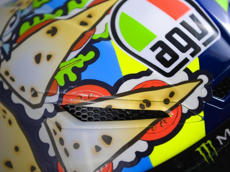 Valentino Rossi helmet, Gran Premio Octo di San Marino e della Riviera di Rimini