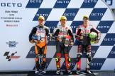 Tatsuki Suzuki, Aron Canet, Tony Arbolino, Gran Premio Octo di San Marino e della Riviera di Rimini