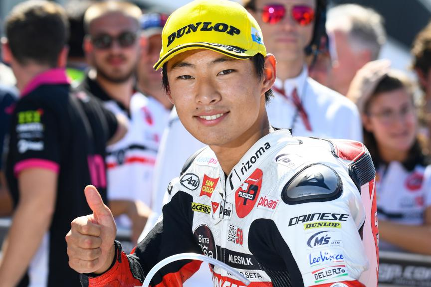 Tatsuki Suzuki, SIC58 Squadra Corse, Gran Premio Octo di San Marino e della Riviera di Rimini