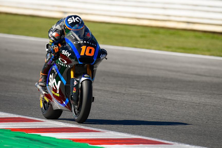 Luca Marini, Sky Racing Team VR46, Gran Premio Octo di San Marino e della Riviera di Rimini